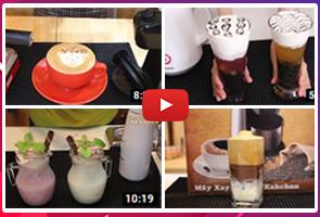 máy xay cafe chuyên nghiệp kahchan chuyên dùng cho quán và nhà hàng