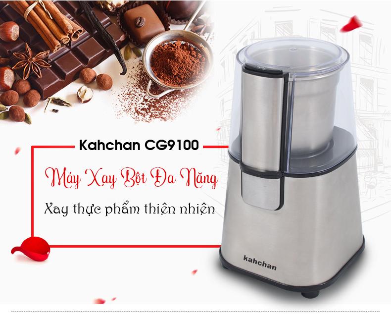 Máy xay hạt khô gia vị nhà bếp Kahchan CG9100 (Ảnh 1)
