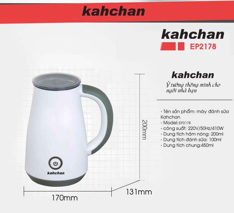 Máy pha trà sữa các loại Kahchan EP2178 (Ảnh 7)