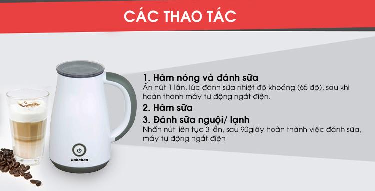 Máy pha trà sữa các loại Kahchan EP2178 (Ảnh 9)