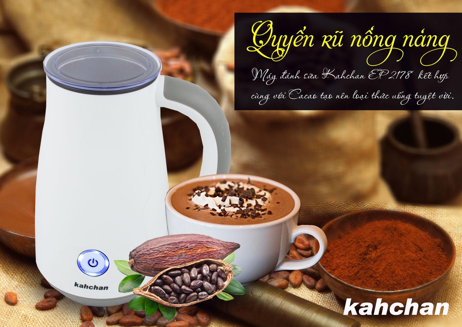 Máy pha cacao Kahchan EP278-2 (Ảnh 1)