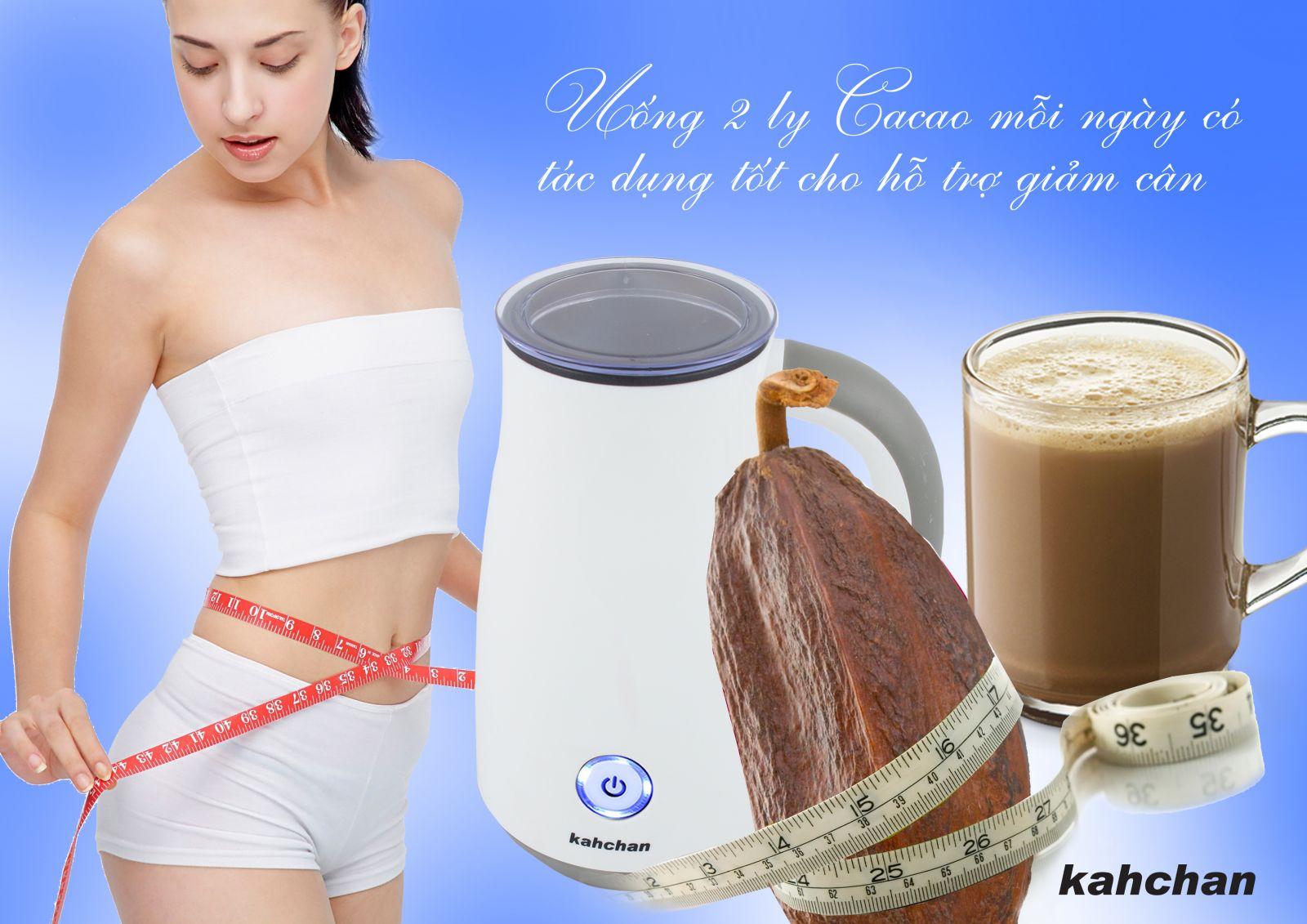 Máy pha cacao Kahchan EP278-2 (Ảnh 2)