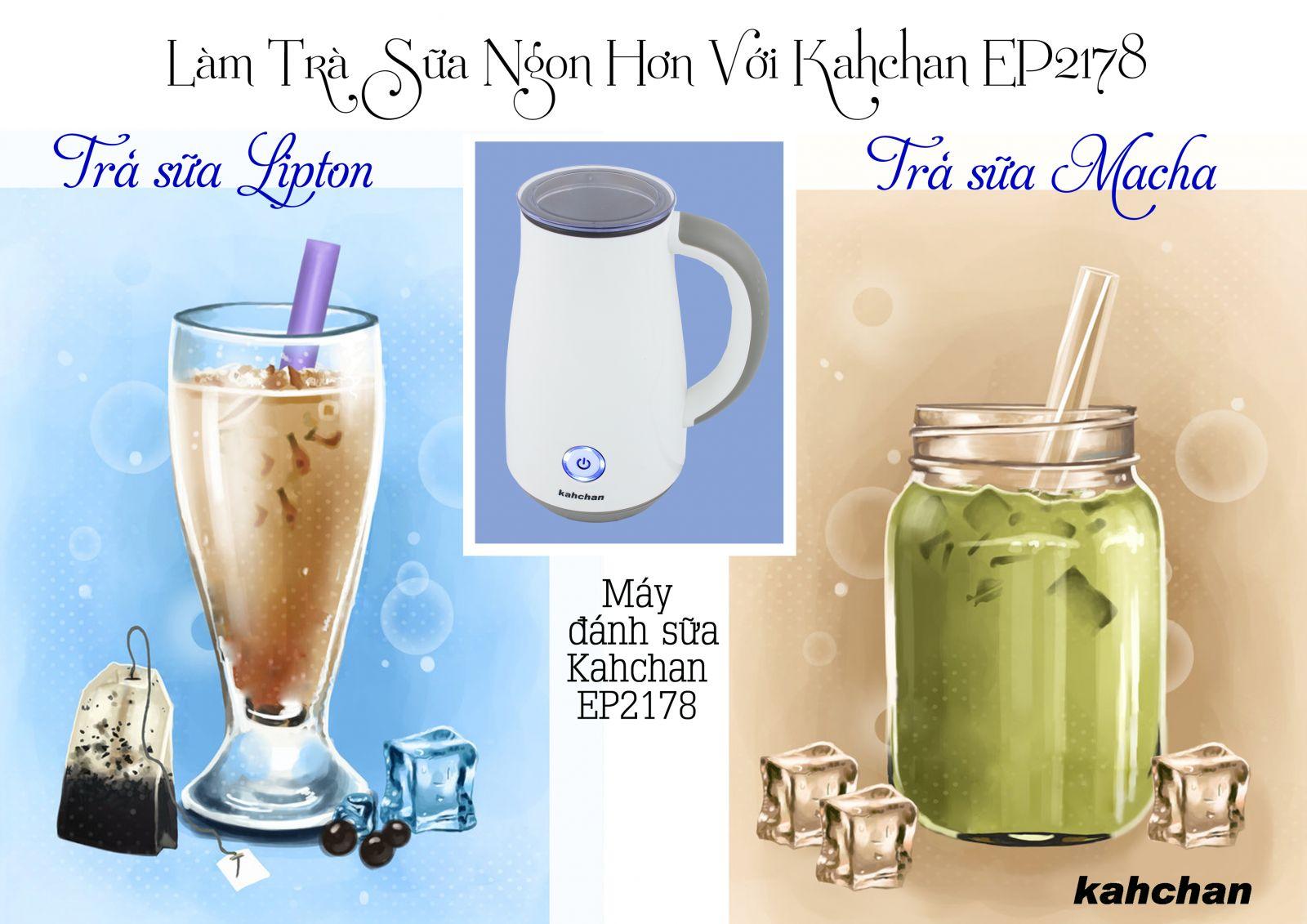 Máy pha trà sữa các loại Kahchan EP2178 (Ảnh 2)