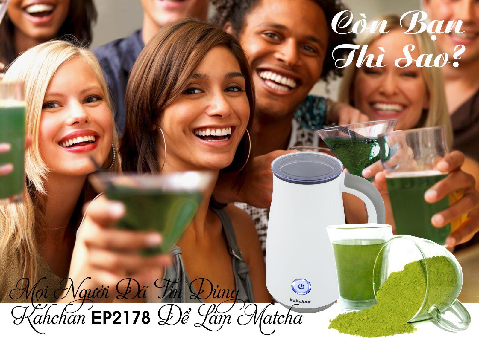 Máy pha trà sữa các loại Kahchan EP2178 (Ảnh 6)