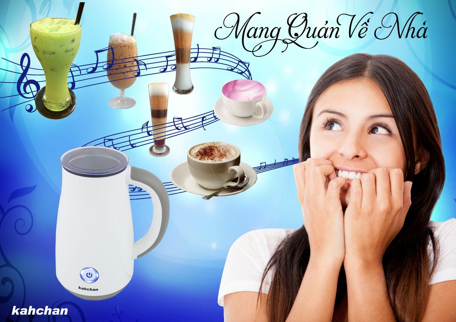 Máy pha trà sữa các loại Kahchan EP2178 (Ảnh 1)
