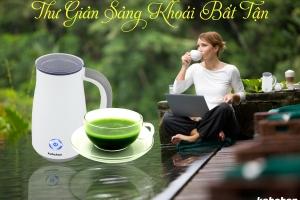 Cùng lúc làm nhiều loại thức uống từ máy đánh sữa Kahchan EP2178