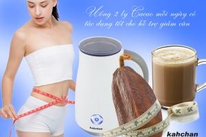 cách pha cacao ngon nhất-máy pha cacao kahchan