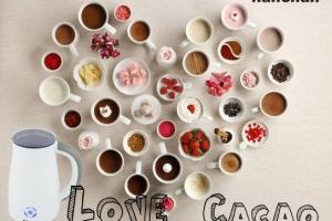 cách pha cacao thơm ngon, hấp dẫn từ máy pha cacao kahchan