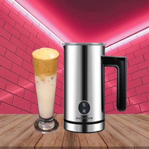 Máy Tạo Bọt Sữa Kahchan pha trà sữa siêu ngon siêu nhanh